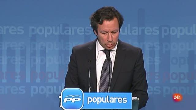 Floriano respalda la ruptura del PP vasco con Patxi López