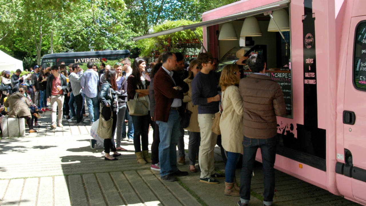 El 'food truck' Trisk'An en el evento MadrEAT