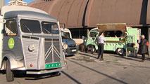 Ir al VideoLas 'food trucks' llegan a Madrid con auténticos productos gourmet