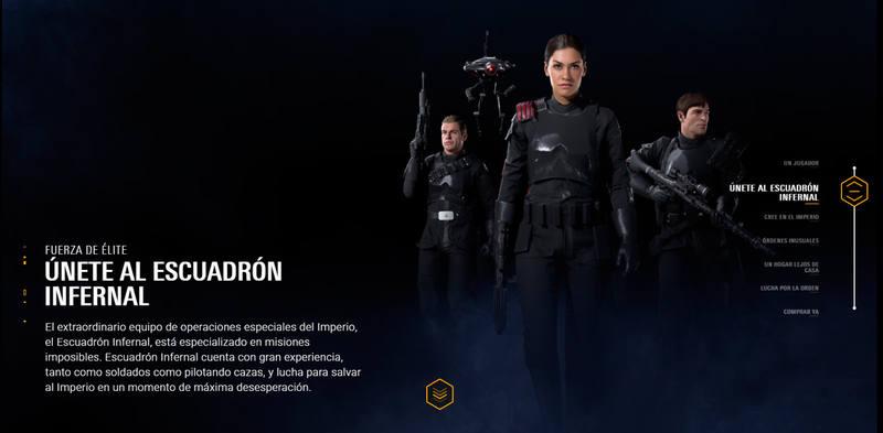 Forma parte del 'Escuadrón Infernal' en el modo campaña.
