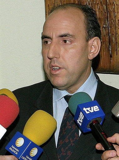 Fotografía de archivo del presidente de la Diputación de Palencia, José María Hernández, del PP.