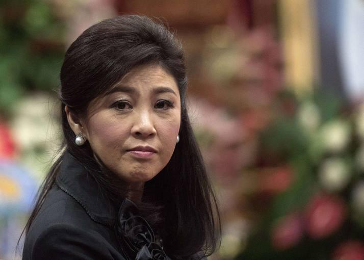 Fotografía de archivo de la ex primera ministra de Tailandia Yingluck Shinawatra