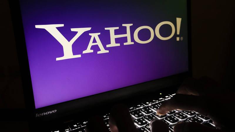 Fotografía de archivo que muestra un logo de Yahoo! en un ordenador