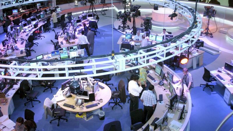 Fotografía de archivo de la redacción de Al Jazeera en Doha