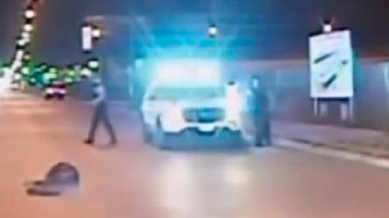 Fotograma del vídeo de la muerte del joven Laquean McDonald hecho público por el Departamento de Policía de Chicago