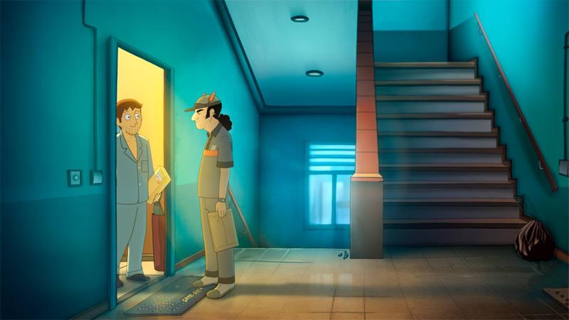 Fotograma de 'Memorias de un hombre en pijama'