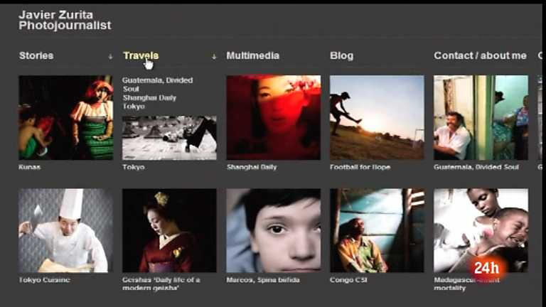 Cámara abierta 2.0 - Fotoperiodismo multimedia, Stepheng King y Carlinhos Brown en 1minuto.COM - 21/07/12