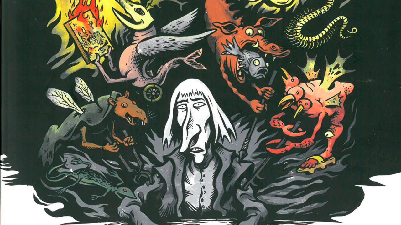 Fragmento de la portada de 'El Bosco'