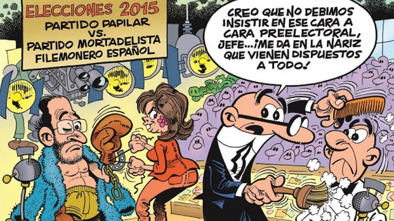 Vota a mortadelo y filem n for Follando cocina