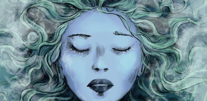 Fragmento de la portada de 'La princesa de hielo'