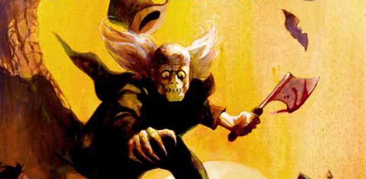 Fragmento de una portada de 'Tomb of terror'