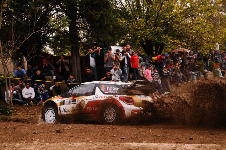 El francés Sebastian Loeb lidera el Rally de Argentina