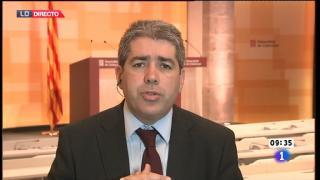 Los desayunos de TVE - Francesc Homs, portavoz del gobierno catalán