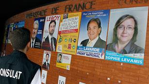 Francia celebra la primera vuelta de las legislativas