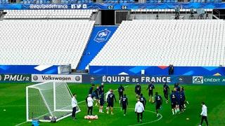 Francia regresa a Saint Denis bajo fuertes medidas de seguridad