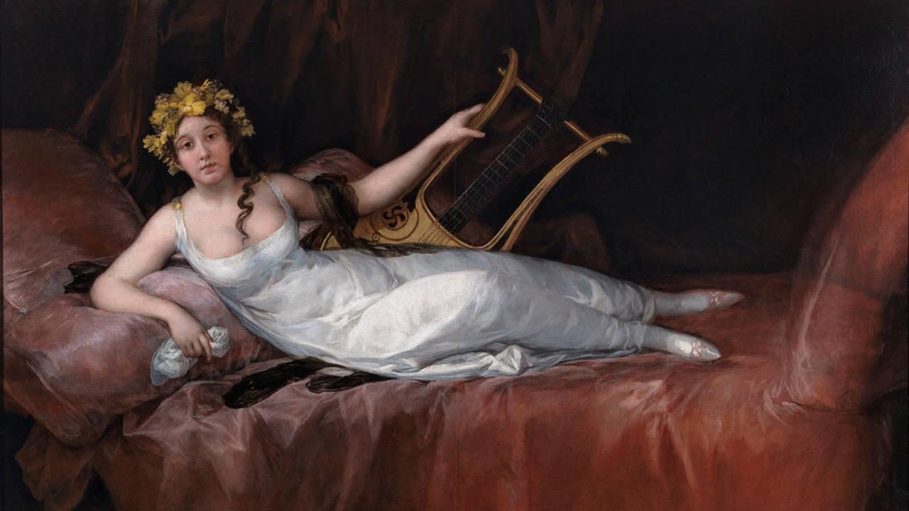 Francisco de Goya. 'La marquesa de Santa Cruz', 1805. Museo Nacional del Prado. Madrid