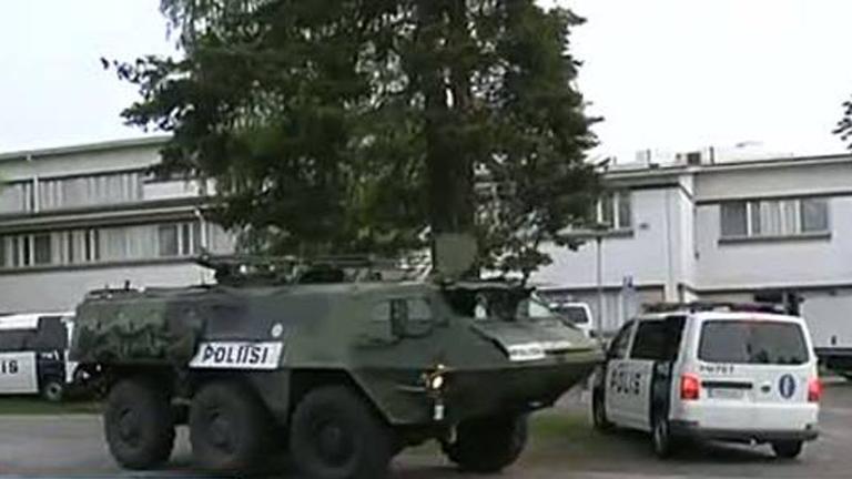 Un francotirador de 18 años apostado en un tejado mata a dos personas en Finlandia