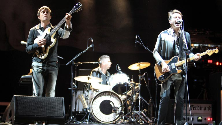 Franz Ferdinand cierran la primera noche del BBK Live 2014 ante 40.000 personas