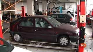 Repor - Frenazo en el coche