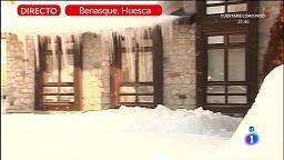 Frío extremo en España