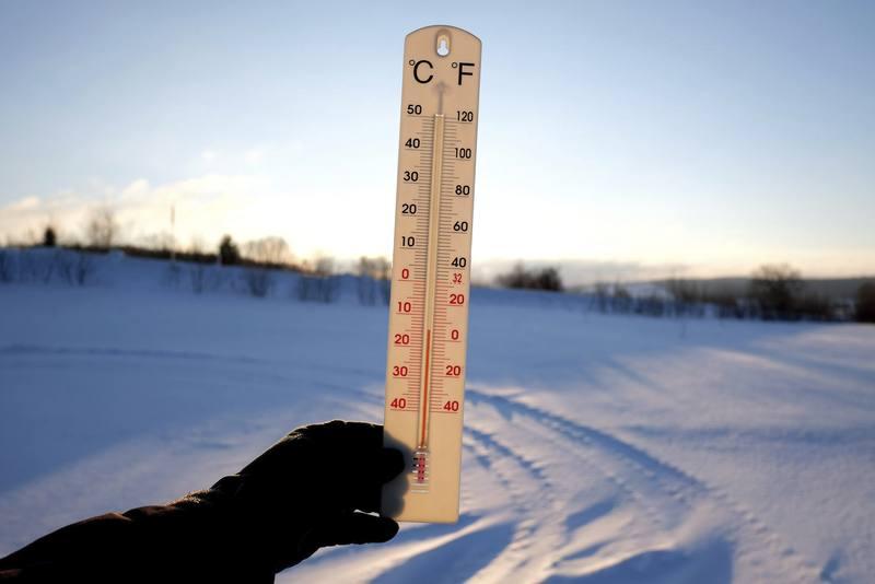 Frío en Polonia