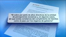 Ir al VideoEl FROB pide a la Fiscalía que investigue las retribuciones de la alta dirección de Caja Madrid
