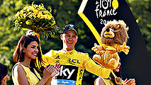 Froome consigue su tercer Tour de Francia