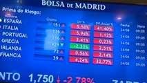 Ir al VideoFuertes bajadas en las Bolsas europeas