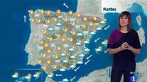 Las fuertes lluvias continuarán este martes en Valencia y Alicante