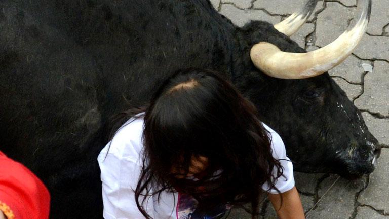'Fugado' resbala y se pierde de la manada