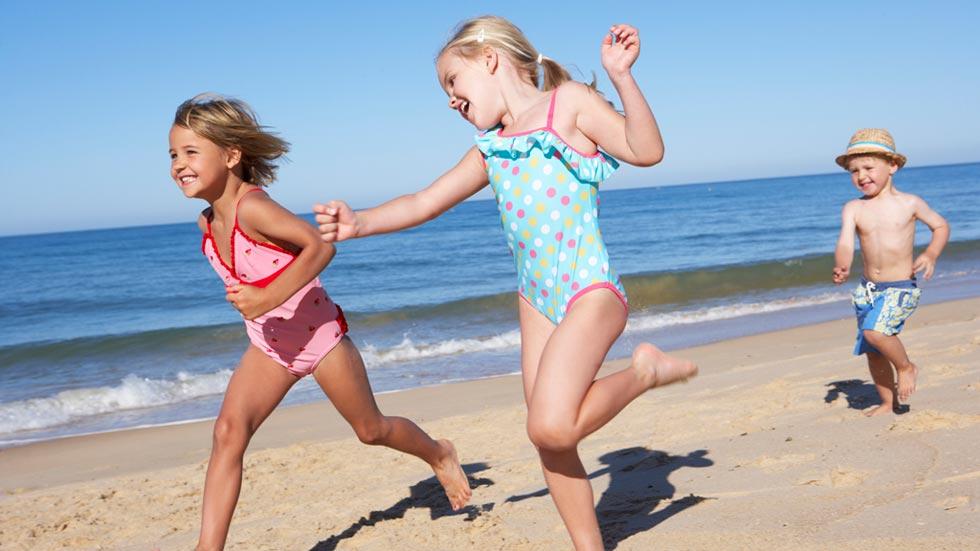 Es fundamental proteger a los niños del sol porque la piel tiene memoria