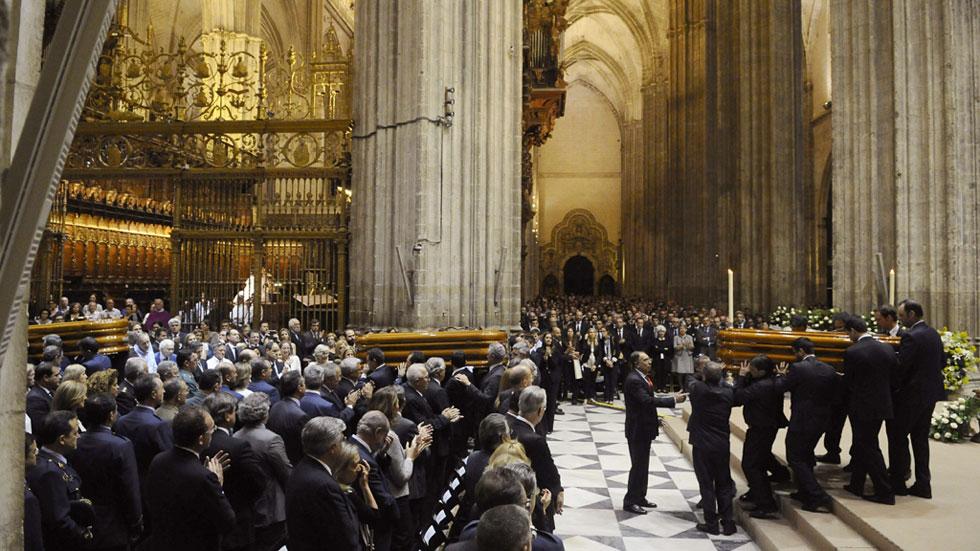 Funeral por los cuatro fallecidos en el accidente del A400M en la catedral de Sevilla