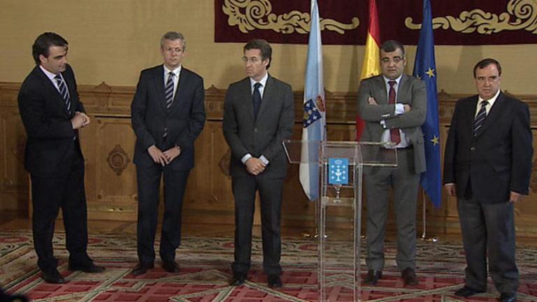 Fusión de dos ayuntamientos de A Coruña