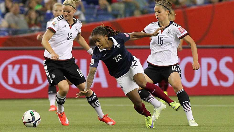 Del mundo femenino 1 4 final alemania francia 2 mundial de