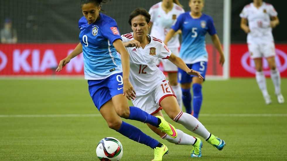 F tbol campeonato del mundo femenino espa a brasil 1 - Tarimas del mundo madrid ...