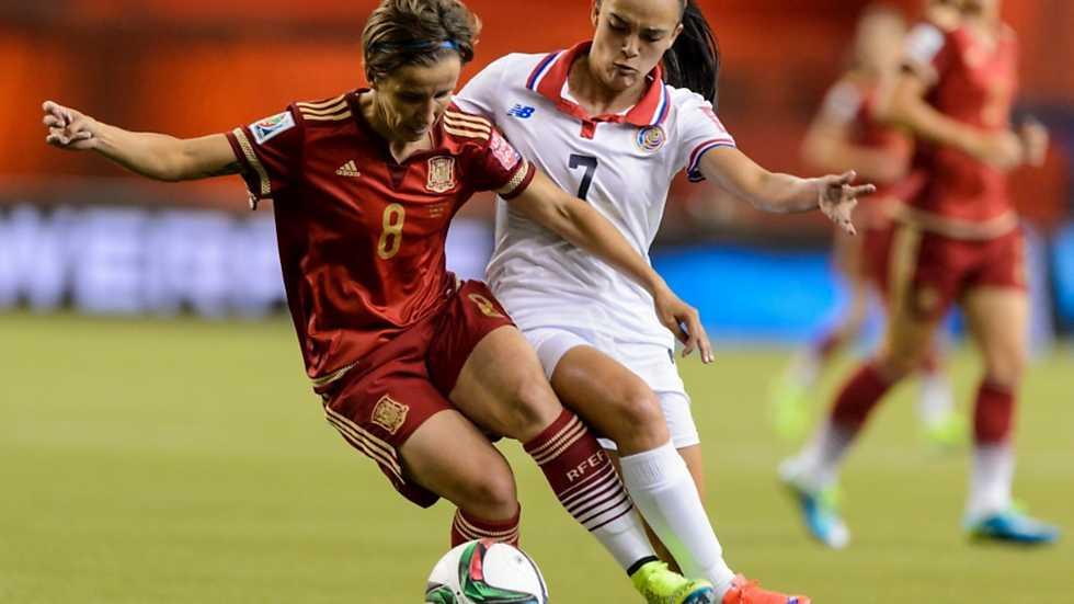 Campeonato del mundo femenino espa 241 a costa rica 1 mundial de