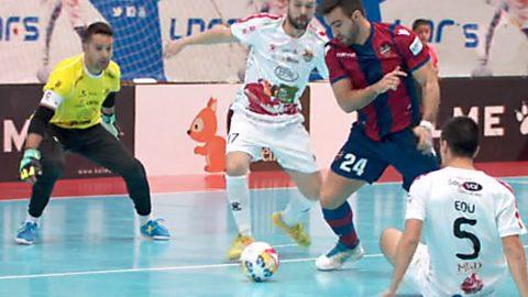 Liga Nacional 5ª jornada: Naturpellet Segovia-Levante UD FS