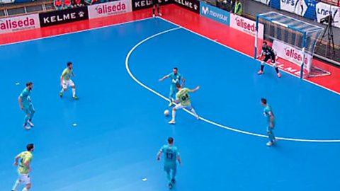 Liga Nacional. 6ª jornada: Movistar Inter - Palma Futsal
