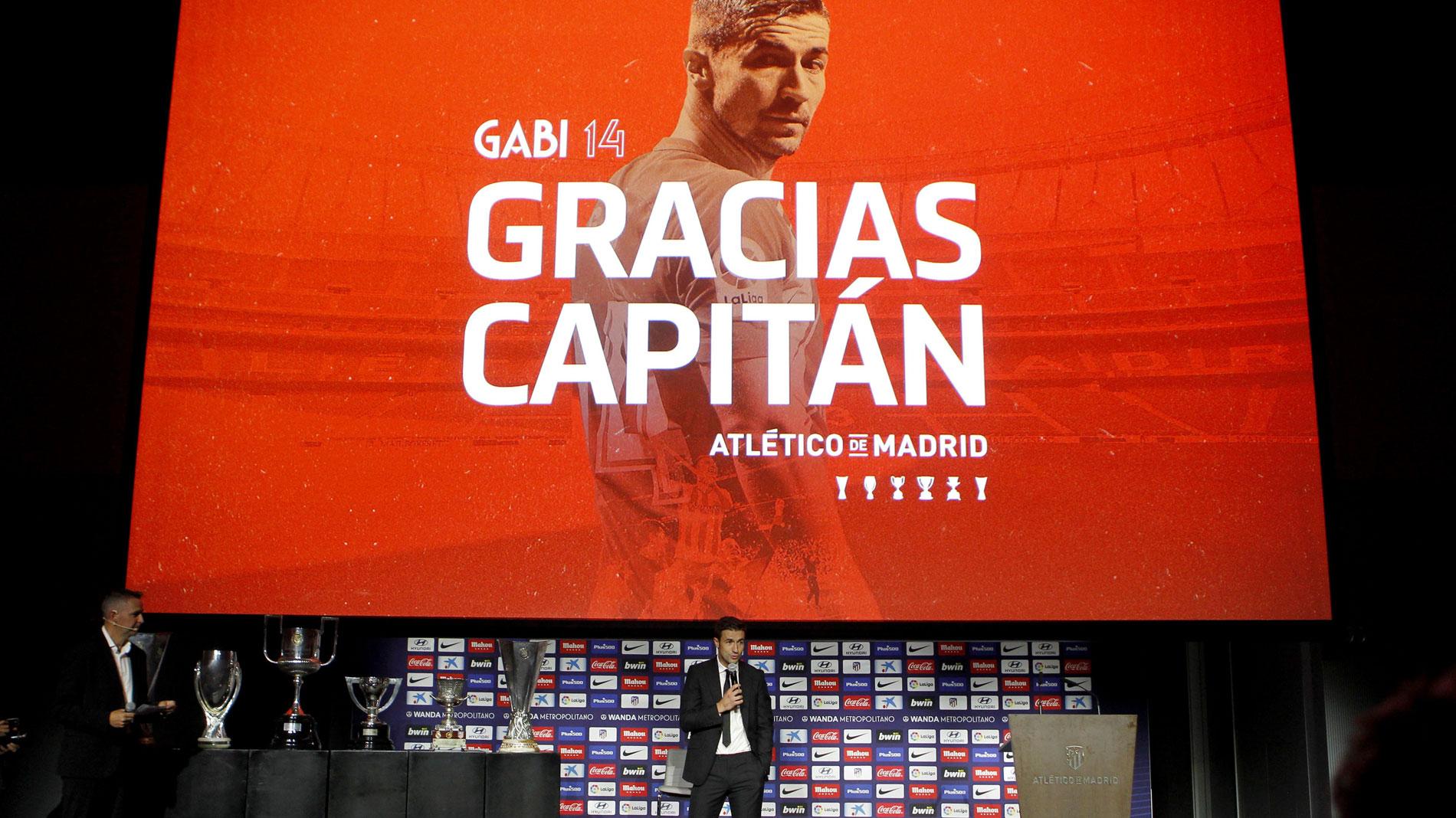 """Ir al VideoGabi se despide del Atlético: """"Voy a estar siempre agradecido a este club, que es una manera de vivir"""""""