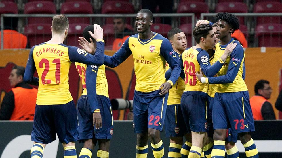 Galatasaray 1 - Arsenal 4
