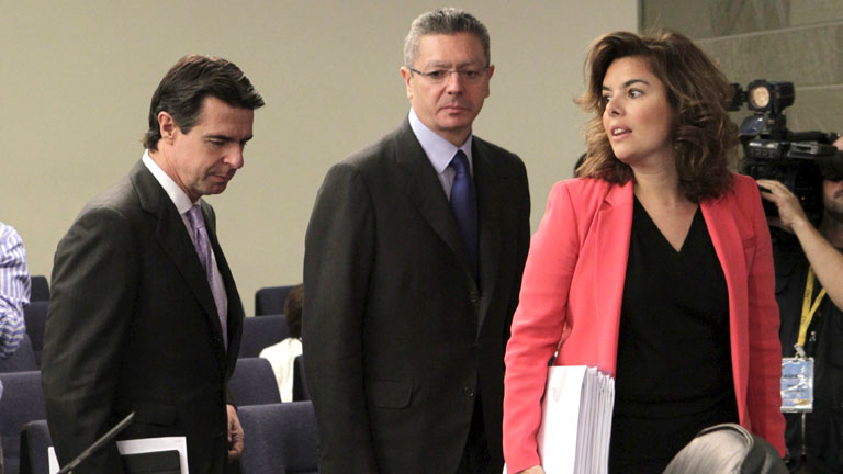 Gallardón hace pública la reforma del Código Penal, habrá prisión permanente revisable