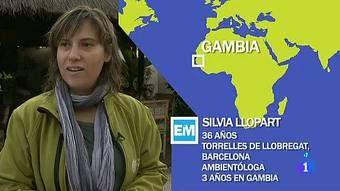 Españoles en el mundo - Gambia - Silvia