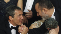 Reacciones premiados Goya