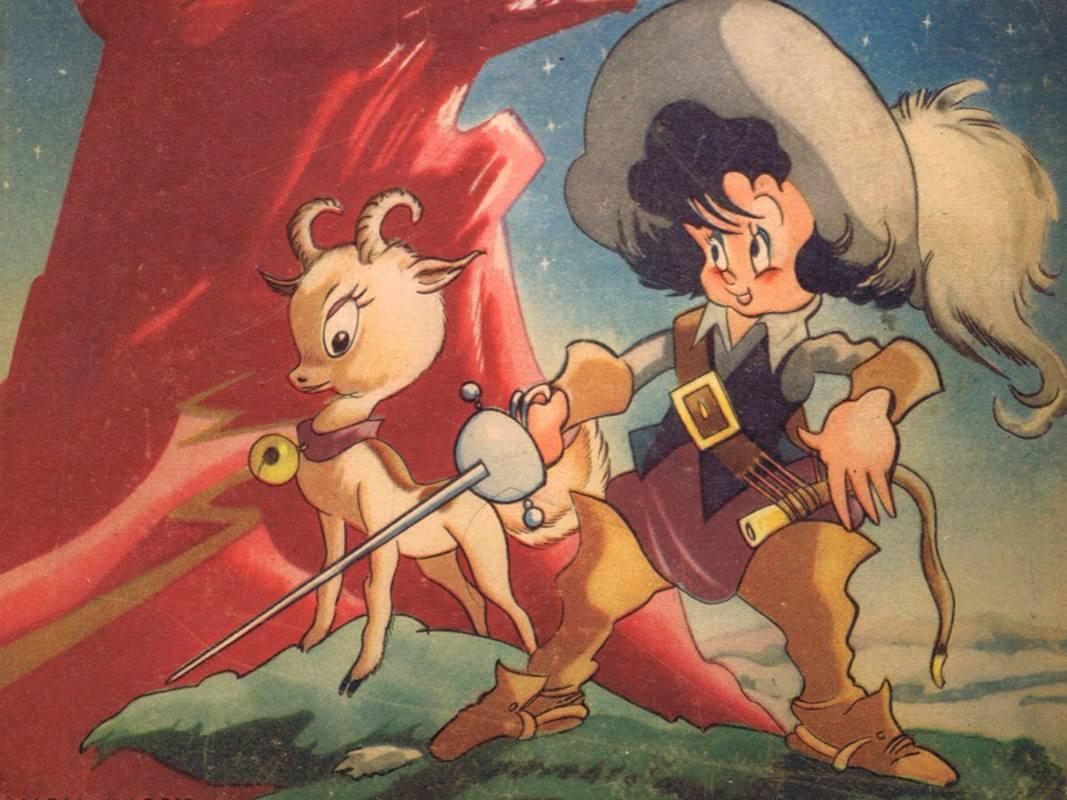 'Garbancito de la Mancha' fue el primer largometraje europeo de animación a color
