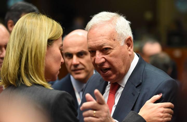 García-Margallo en la reunión de líderes de la UE para abordar medidas contra el terrorismo yihadista