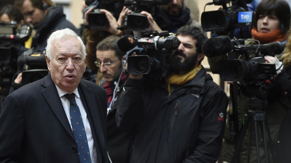 """García-Margallo advierte que """"el tiempo se agota"""" para la solución de dos estados en Oriente Medio"""