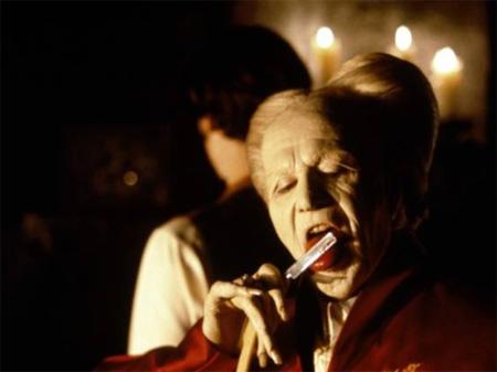 Gary Oldman en 'Drácula de Bram Stoker', última gran película de su carrera.