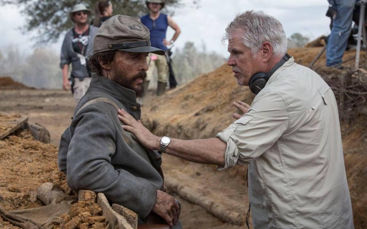 Gary Ross dando instrucciones a Matthew McConaughey