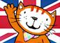 Imagen de un episodio de La gata Lupe en inglés
