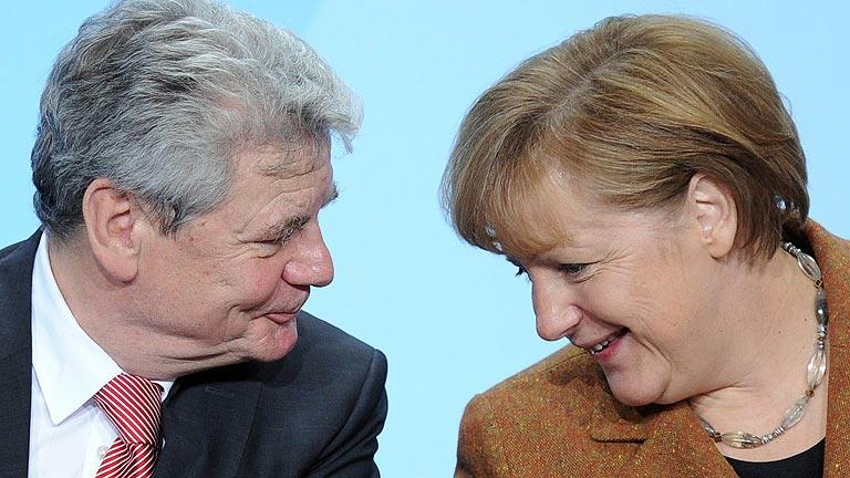 Acuerdo en Alemania para proponer a Joachim Gauck como presidente